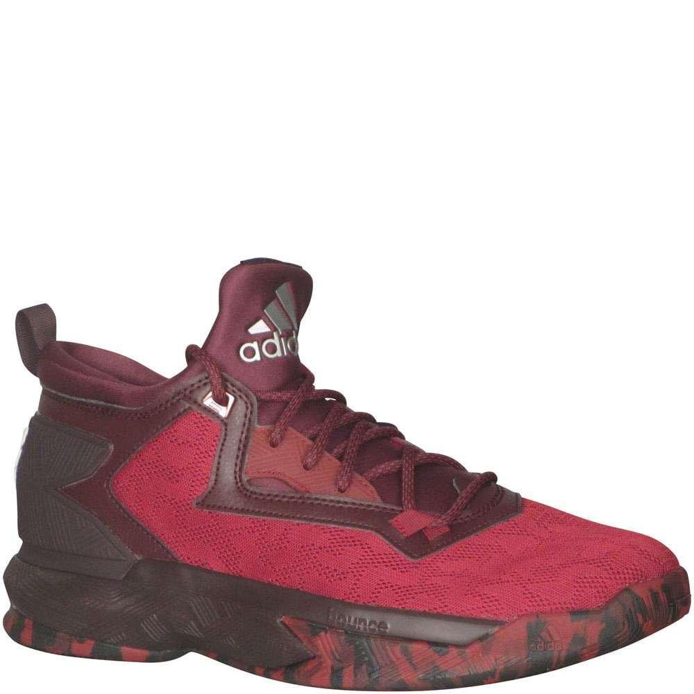 best service dfdeb 6e2dc Galleon - Adidas D Lillard 2 Mens Basketball Shoe 12 Burgundy-Burgundy-White