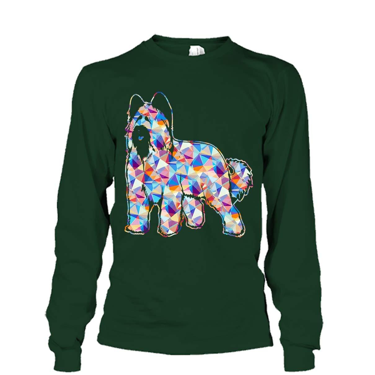 Mazoli Briard Cool Tshirt Briard Geometric Tee Shirt