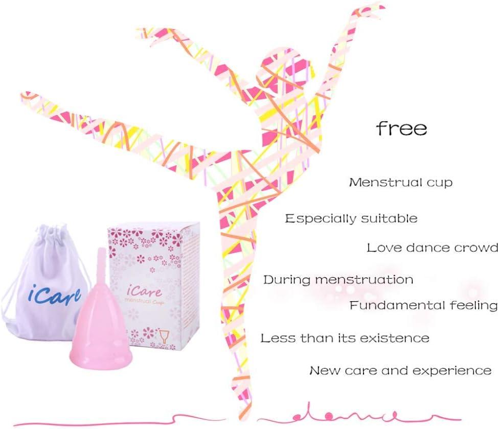 Copa menstrual de silicona de grado médico, copa lunar, taza ...