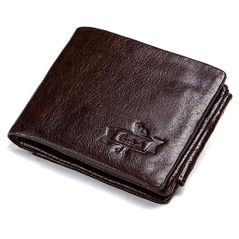 Bags, Packs & Accessories Wallets HHF Purses & Wallets Tri-Fold Vintage Denim Wallet Mens Leather Wallet
