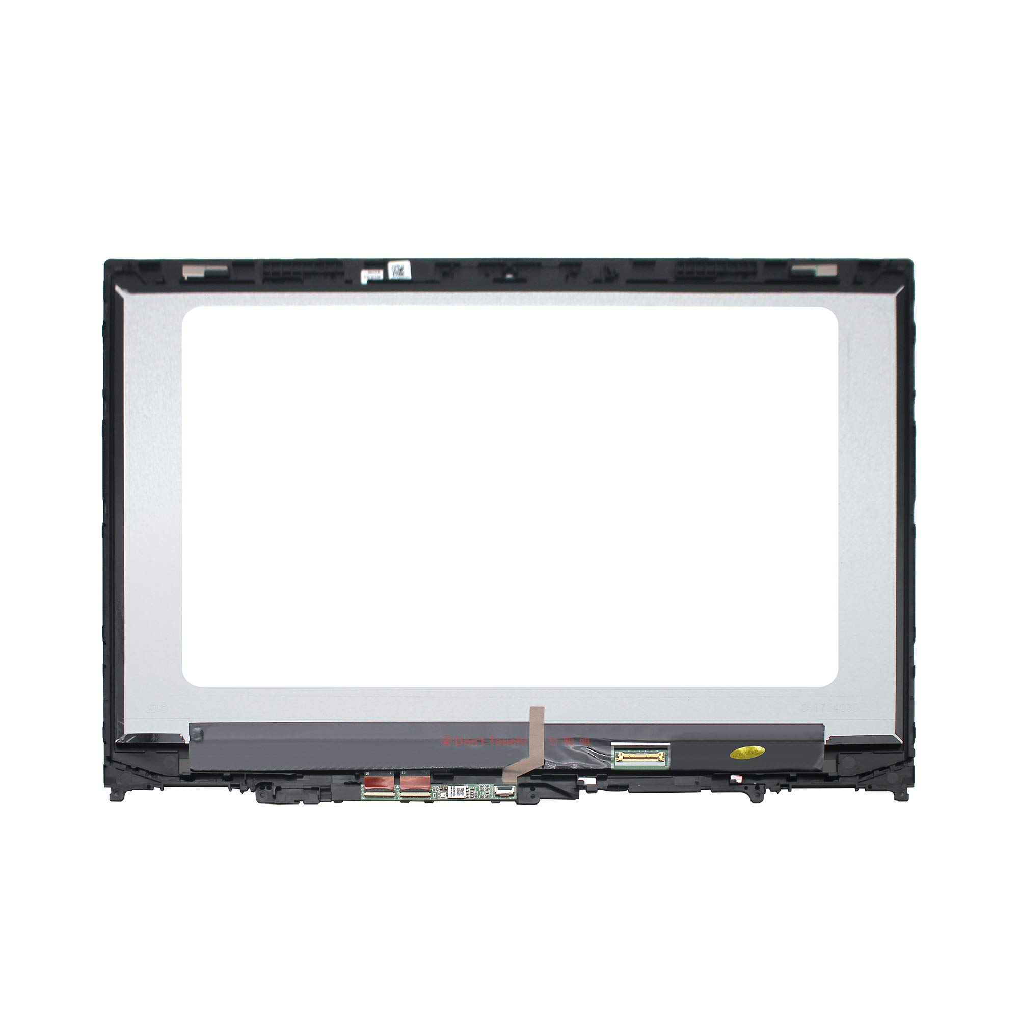 LCDOLED Compatible 15.6'' FullHD 1080P IPS B156HAN02.1 LED LCD Display Touch Screen Digitizer Assembly + Bezel for Lenovo Flex 5-15 5-1570 80XB 81CA 81CA0008US 81CA0009US 80XB0008US (W/Board) by LCDOLED (Image #2)