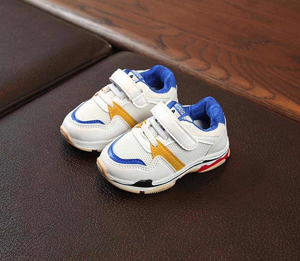 Toddler Baby Sneaker Cartoon Anti-Slip Hook /& Loop Shoes FreshZone Children Mesh Running Shoes 1-6Years