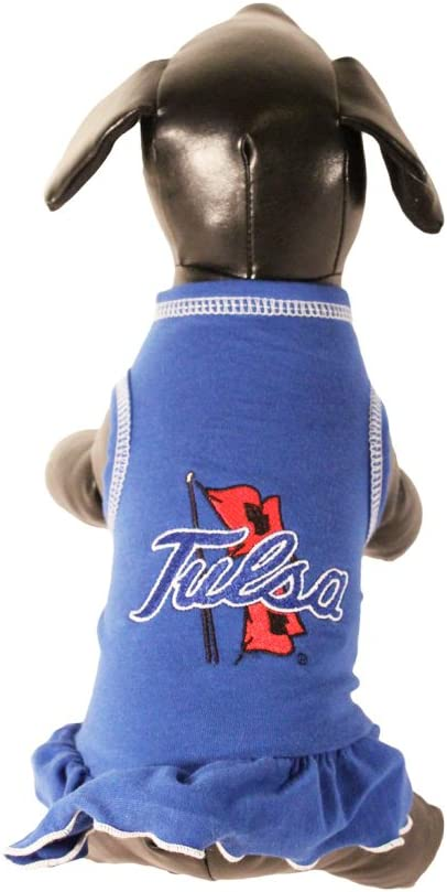 X-Large NCAA Tulsa Golden Hurricane Cheerleader Dog Dress