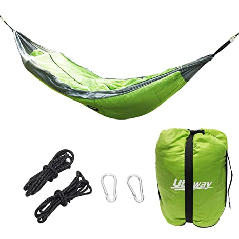 Camp Sleeping Gear Outdoor Winter Warm Sleeping Bag Hammock Underquilt Sleeping Bag Warmer Under Quilt Blanket For Outdoor Camping Hiking
