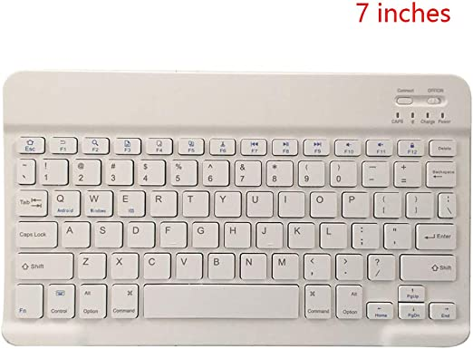 Topke 7 Pulgadas Mini portátil inalámbrico Bluetooth 3.0 del ...