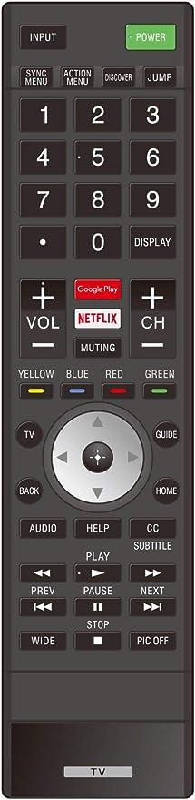 Mando a Distancia de Repuesto para televisor Sony XBR65X850E de 165 Pulgadas, XBR75X850E de 75 Pulgadas, 4K Ultra HD Smart LED TV: Amazon.es: Electrónica