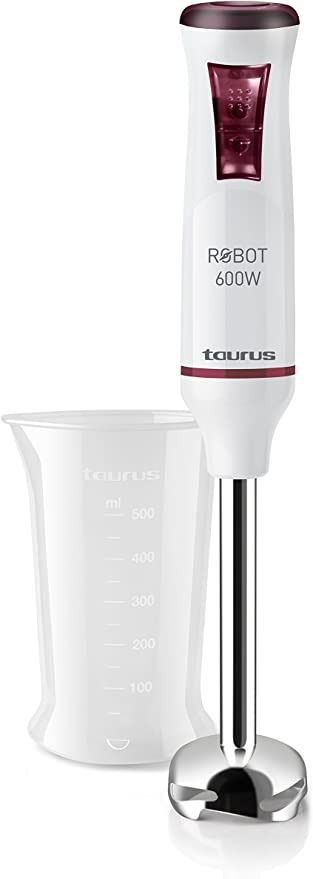 Taurus Robot 600 Batidora de mano, W, 0.5 litros, 0 Decibelios ...