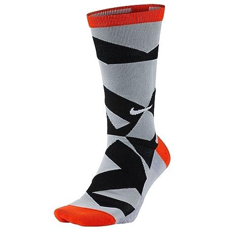 Nike New Golf Elite Graphic Crew 3 Calcetines, Hombre, Naranja (MAX Orange/