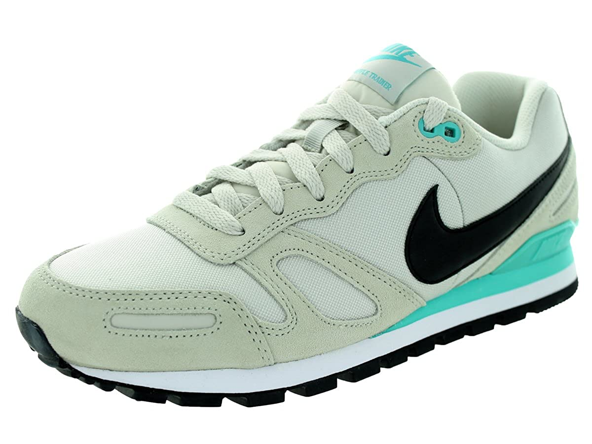 wholesale dealer b369f 21095 Amazon.com  Nike Mens Air Waffle Trainer Light BoneBlackLt RtrWhite Training  Shoe 8 Men US  Running