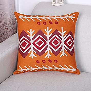 Cool Amazon Com Ling Foreign Domain Cotton Linen Throw Pillow Caraccident5 Cool Chair Designs And Ideas Caraccident5Info