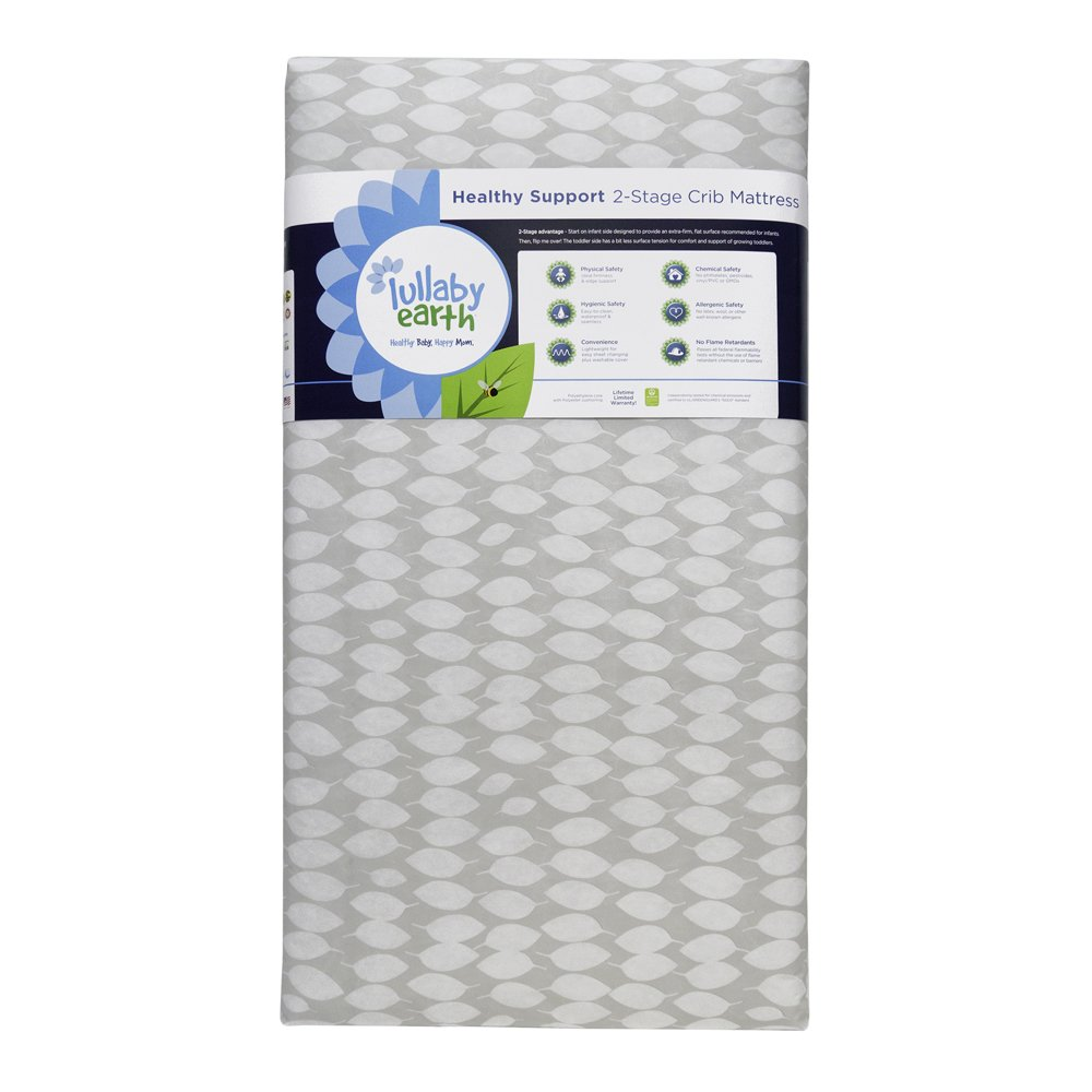 Lullaby Earth Healthy Support Crib Mattress- Origional - Beige LE14