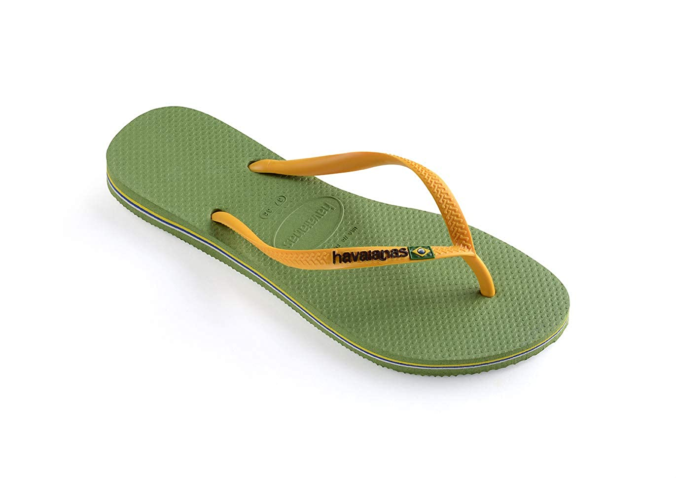 Havaianas Womens Slim Brazil Flip Flop Sandal