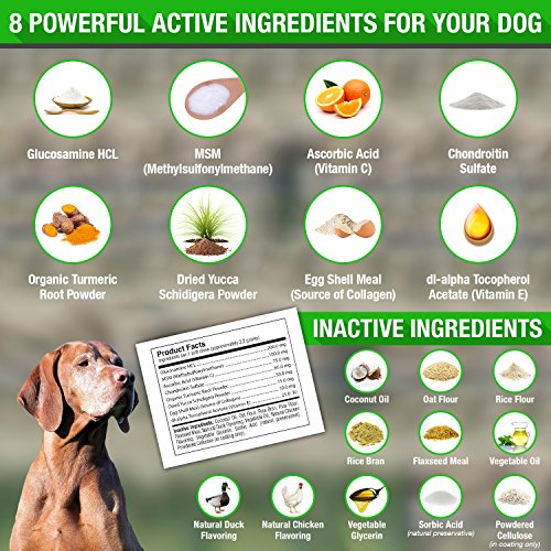 Woofthful Dog Hip And Joint Supplement For Dogs With