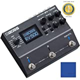 Boss RV-500 Reverb Multi-effects Pedal with 1 Year Free Extended WarrantyandMicrofiber