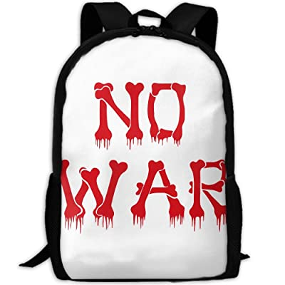 No War Luxury Print Men And Women's Travel Knapsack