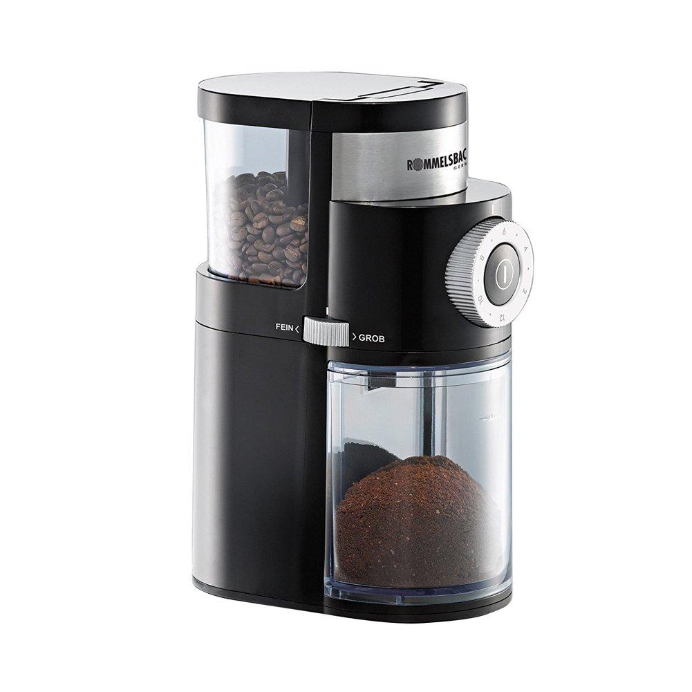 ROMMELSBACHER EKM200 Coffee Grinder mill Black Silver