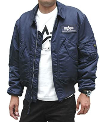 659ea72a60d Alpha Industries Made in USA CWU-45P Army Military Pilot Bomber AF Flight  Jacket