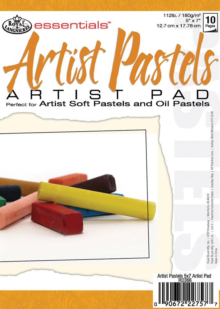 Royal & Langnickel 5X7 Artist Pastel Pad (RD366) Darice