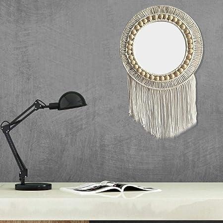 xuanyang524 Miroir Mural avec Corde Fait à la Main avec ...