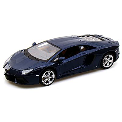Maisto Lamborghini Aventador LP700-4, Blue 31210 - 1/24 Scale Diecast Model Toy Car: Toys & Games