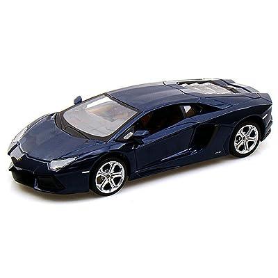 Maisto Lamborghini Aventador LP700-4, Blue 31210 - 1/24 Scale Diecast Model Toy Car: Toys & Games