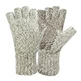 Hot Shot Men's Ragg Wool Fingerless Glove