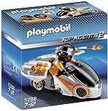 Playmobil Agentes Secretos 2 - Moto espía (5288)