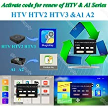 HTV 1 2 3 5 / A1 / A2 / IPTVKINGS /BRAZIL BOX / SUPER BRAZIL IPTV BRAZIL SUBSCRIPTION 16-digit Renew code with magic keys FREE REMOTE AND 1 EXTRA MONTH