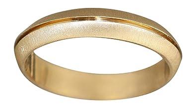 Hobra Gold GOLDRING 585 GELBGOLD OD WEISSGOLD MASSIVER BANDRING