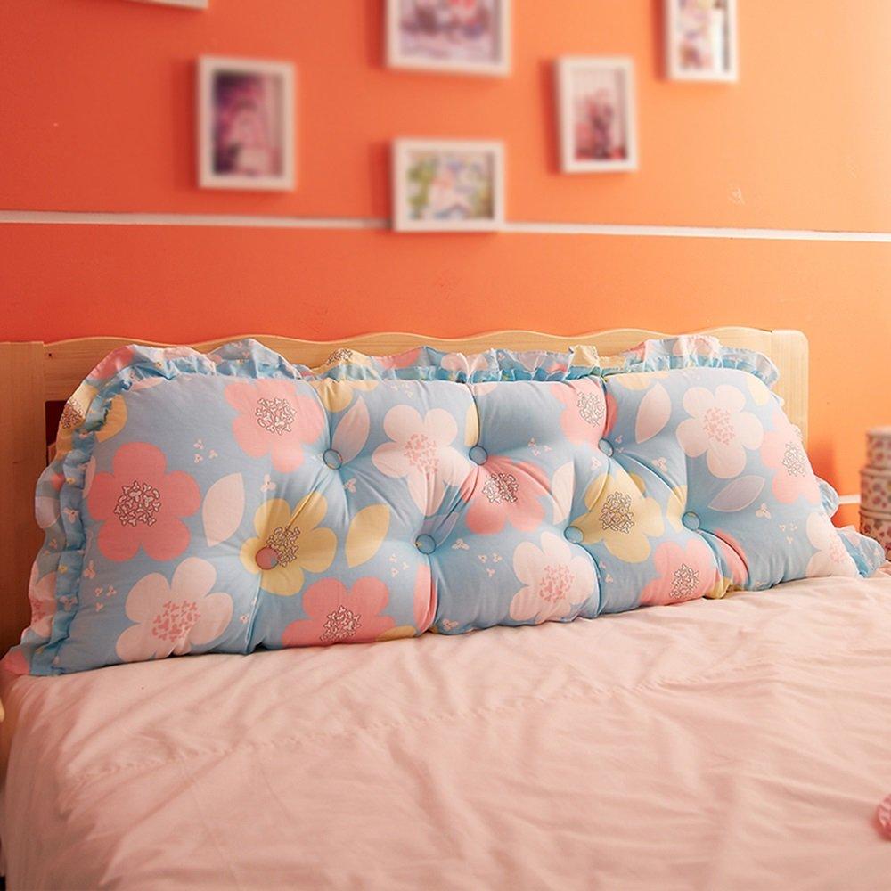 ダブル長い枕/ベッドバック/ソファクッション/ベッド枕/韓国のベッドサイドの大きなバック (色 : E, サイズ さいず : 120*55cm) B07DN2W34W 120*55cm|E E 120*55cm