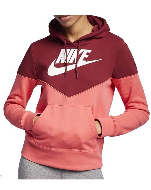 Nike Women's W Nsw Hrtg Hoodie Flc Sweatshirt: Amazon.co.uk
