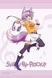SHOW BY ROCK!! 描き下ろしイラスト ルフユ ヘッドフォンver. タペストリー