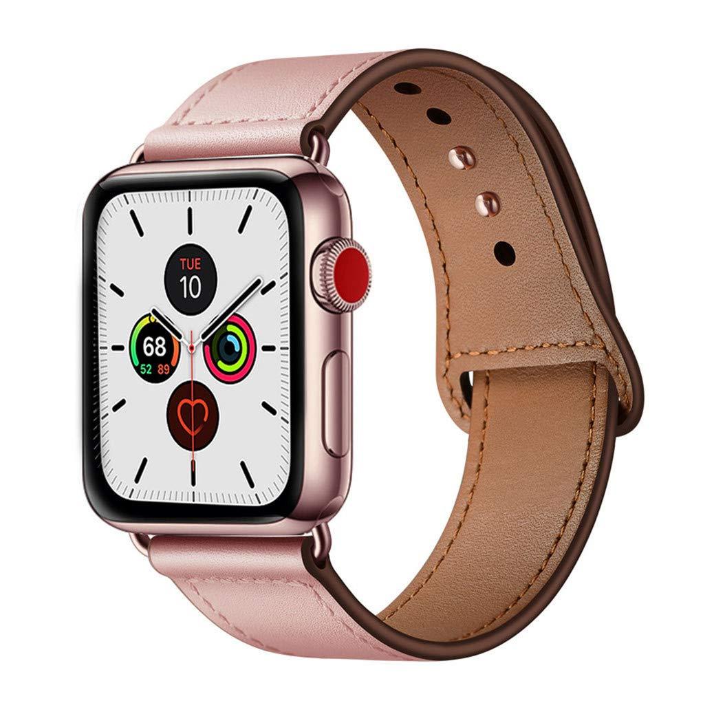 Malla Cuero para Apple Watch (42/44mm) YALOCEA [7P2JDPSC]