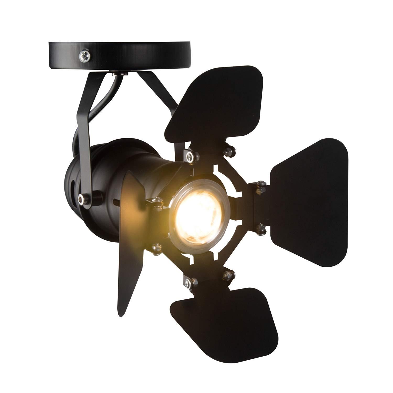 Hobaca GU10 L19 W17cm Mini Loft Spotlight Ceiling Lights Industrial Track Light Surface Mounted Retro Lamps Downlighting