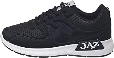 Jaz Lace Up Shoes For Women - Black