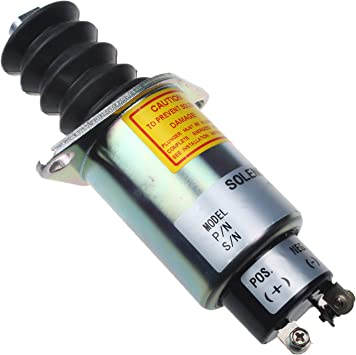 Friday Part 12V Fuel Shutoff Solenoid 2003 SA-4752-12 for Woodward
