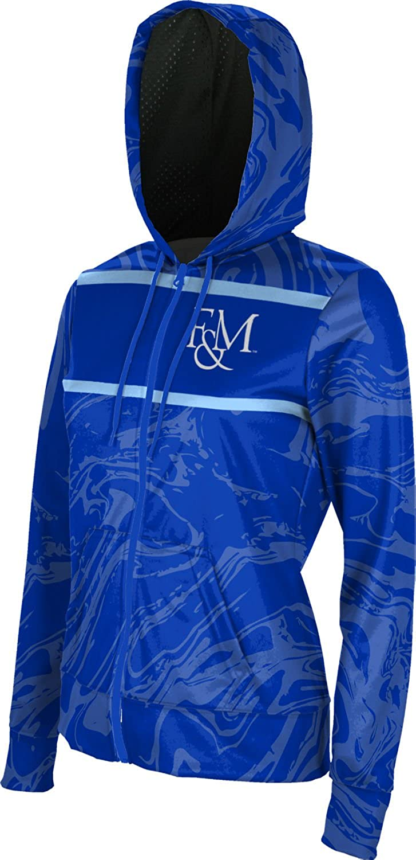 ProSphere Franklin /& Marshall College Girls Zipper Hoodie School Spirit Sweatshirt Ripple