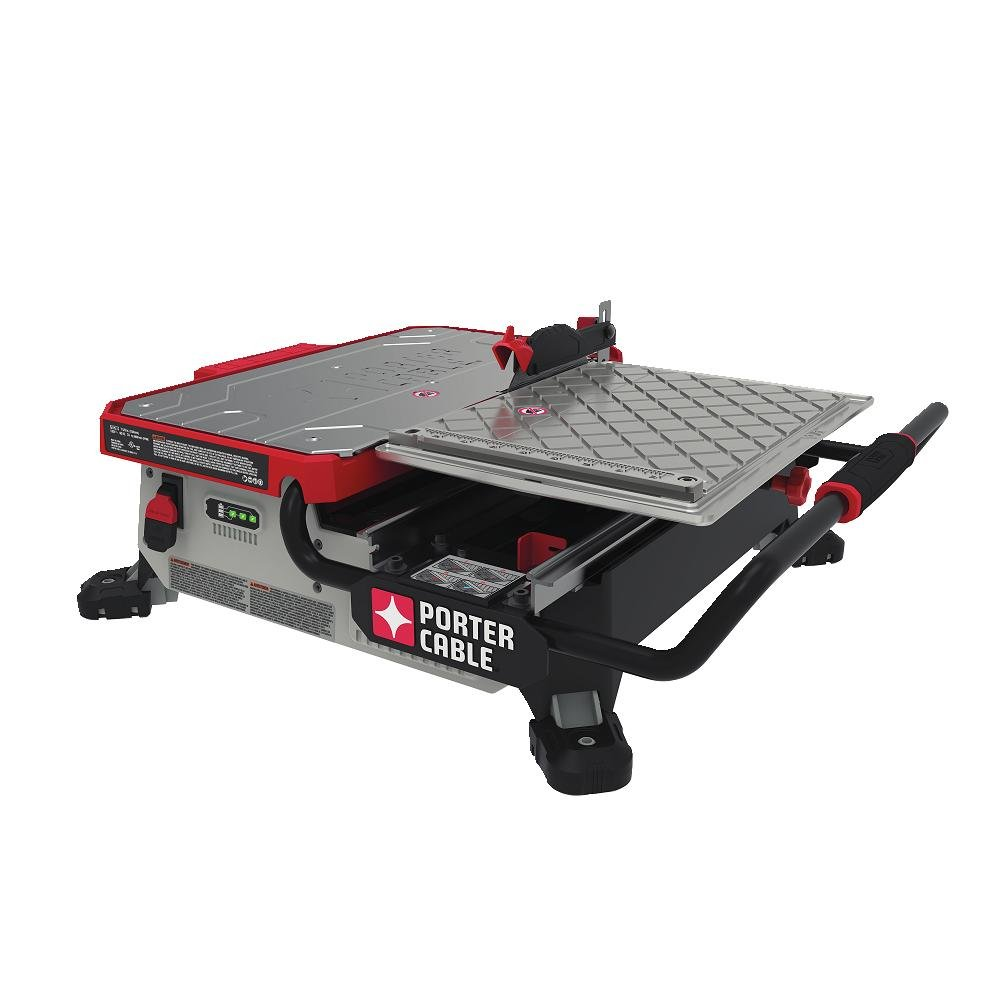 porter cable wet tile saw