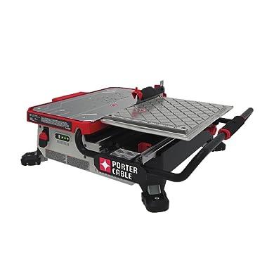 Porter Cable PCC780LA 20V MAX 7  Sliding Table Top Wet Tile Saw
