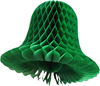 product image for 6-Pack 11 Inch Tissue Paper Bell Decoration, Light Green