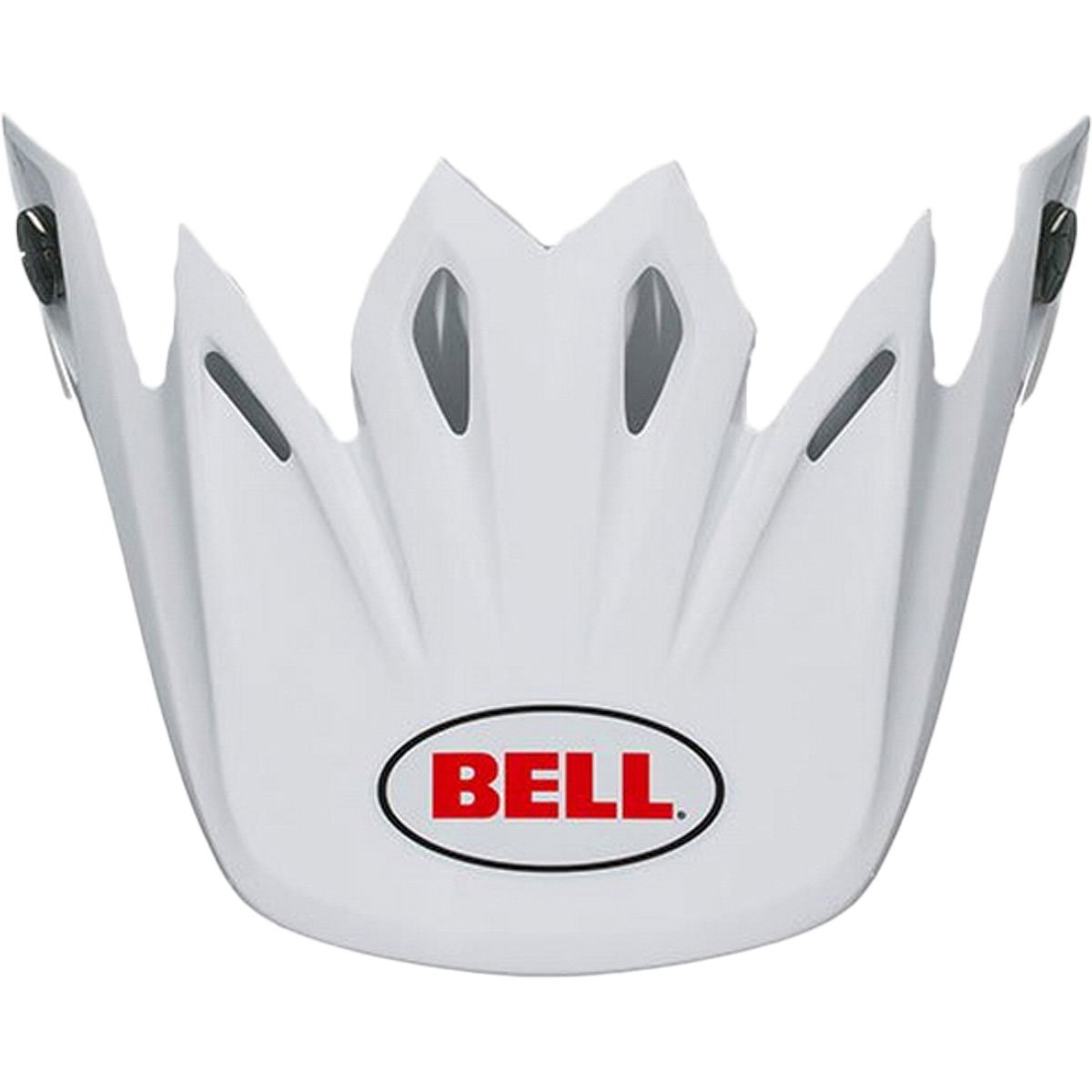 Bell Moto-9 Solid Visor Street Motorcycle Helmet Accessories - White/One Size