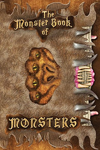 Harry Potter Book Of Monsters (The Monster Book of Monsters: Harry Potter Lined Journal A4 Notebook, for school, home, or work, 150 Pages, 6