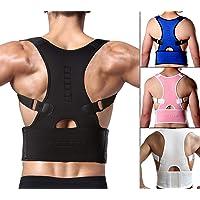 FITTOO Corrector de Postura Ajustable Soporte de la Espalda y Alivio del Dolor de Espalda, Mejorar la Postura para Mujer y Hombre