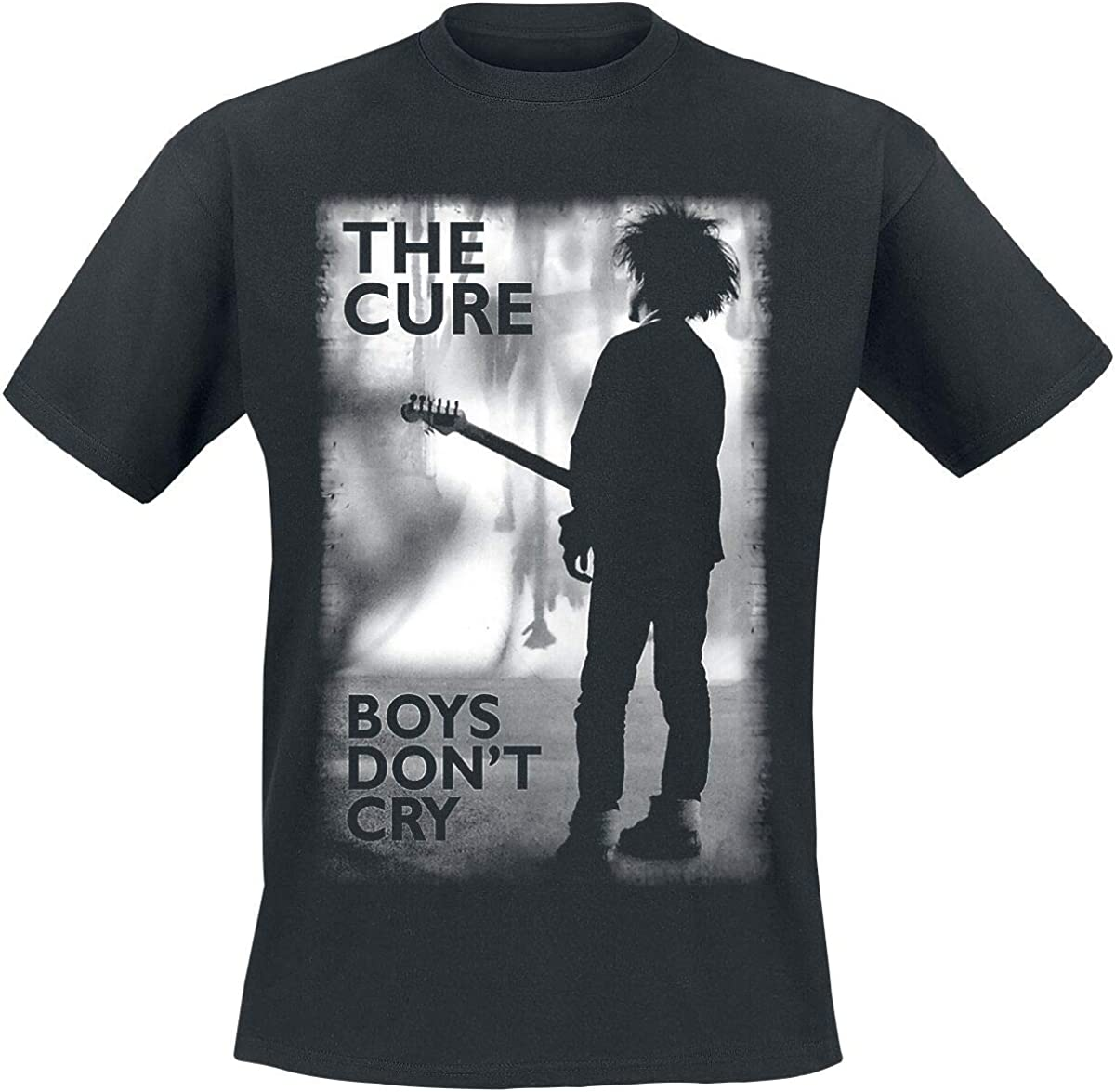 Amplified The Cure Boys Dont Cry T-Shirt Noir