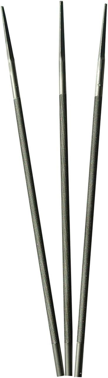 3Pcs 13//64 Round Files Sharpener For Stihl Oregon Echo Chainsaw 5.0mm