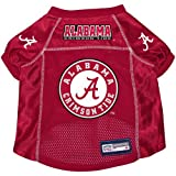 Alabama Crimson Tide Premium Alternate NCAA Pet Dog Jersey w/ Name Tag XL