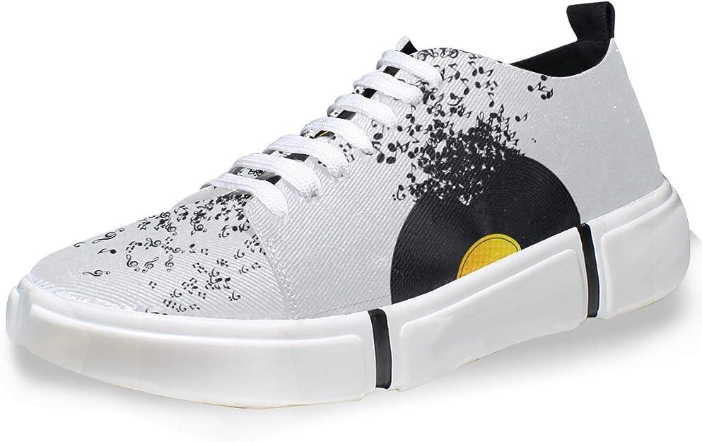 DEZIRO - Zapatillas de deporte para hombre con notas ...