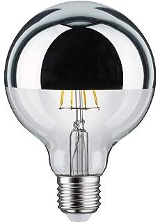 Scharnberger+Has Globelampe D125mm 41973 E27 230V 100Wklar SI Allgebrauchsgl/ühlampe verspiegelt 4034451419735