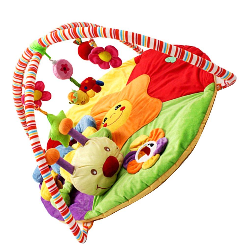 Promoción por tiempo limitado MagiDeal Recién Nacido, Bebé, Suave, Animales, Actividad, Gimnasio, Playmat, Juego, Estera, Oruga