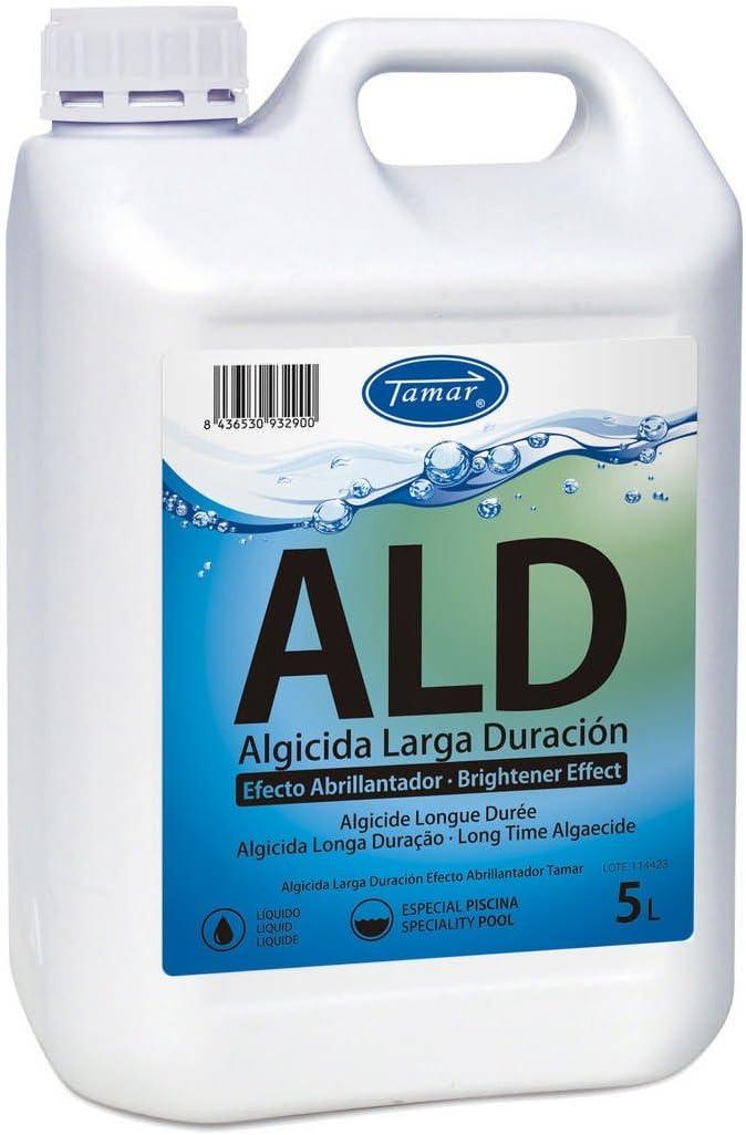 Tamar - Algicida Larga Duración con Efecto Abrillantador, Garrafa de 5 Litros.